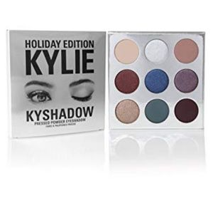 New Kylie Cosmetics Holiday Eyeshadow Palette